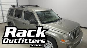 Ors Roof Racks by Jeep Patriot Outfitted With Yakima Timberline Corebar Roof Rack