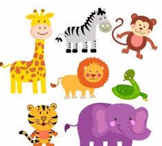 safari cartoon vector safari animals cartoon vector art ai svg eps vector free