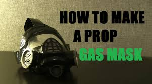 how to make a prop gas mask youtube