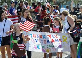 2017 veterans day parades and events wusf news