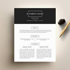 Printable Resume Templates Resume Template And Cover Letter Template For Word Diy
