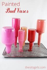 diy painted glass bottle vases glass bottle craft
