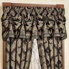 fenmore damask tuck valance window treatment