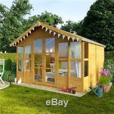 Garden Shed Summer House - summer house 8x10 garden shed flooring included traditional