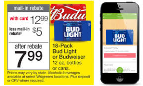 18 pack of bud light price at walmart walgreens 4 99 budweiser or bud light 18 packs perfect for