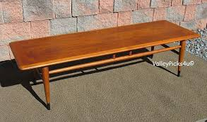 lane furniture coffee table vintage 1970s lane furniture dovetail coffee table price sold 135