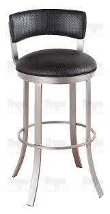 Bar Stool With Backrest Furniture Birkin Swivel Bar Stool With Cushion Backrest