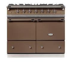 piano de cuisine lacanche lacanche cluny in marron glacè lacanche range cookers australia