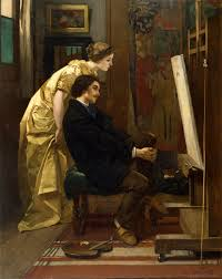 the painter file alfred the painter and his model walters 37322
