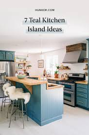 how to paint kitchen cabinets that won t chip 7 teal kitchen island ideas that won t give you the blues