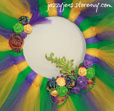 large mardi gras jazzy jen s mardi gras tulle wreath large online store