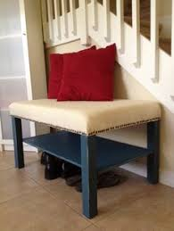 lack coffee table hack diy bench using an ikea lack coffee table foam and fabric so