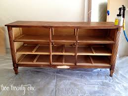 How To Refinish Desk How To Turn A Dresser Into A Tv Stand Diy Two Twenty One