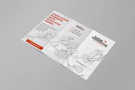 free corporate trifold brochure template free psd ui download