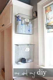 Storage Ideas For Laundry Rooms by Vertical Storage Ideas Organizing By Hanging Boxes And Bins