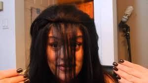 ladies hair stylrs to hide thin hair new way of hiding thin balding hair youtube