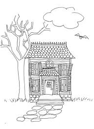 drawing a house draw a haunted house lesson