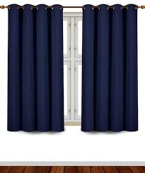 Grommet Top Blackout Curtains Top Blackout Curtains 2018 Room Darkening Insulated Curtains More
