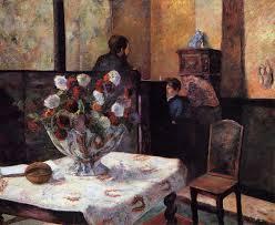 interior of the painter u0027s house rue carcel 1881 paul gauguin