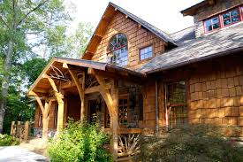 Craftsman Cabin Rustic Contemporary Exterior Home Designs Open House Plans