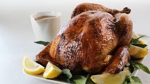 honey mustard glazed turkey recipe w thyme pancetta