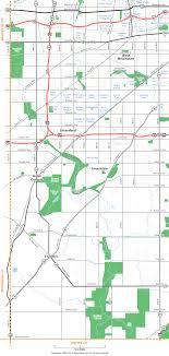 map of southwest southwest milwaukee county wisconsin map