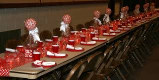 little miss suzy q ward christmas party center pieces and some
