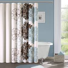 Brown And Blue Bathroom Ideas Teal Blue And Brown Shower Curtain Home Decoration Ideas