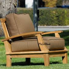 Unique Outdoor Furniture by Furniture Unique Teak Adirondack Chairs With Browun Seat Cushion