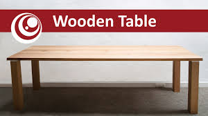how to build an easy table how to make your own dining table work desk easy and cheap youtube