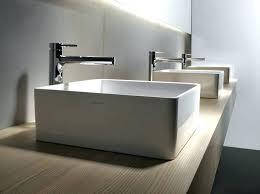 designer bathroom sink floating vanity with vessel sink square modern bathroom sinks and
