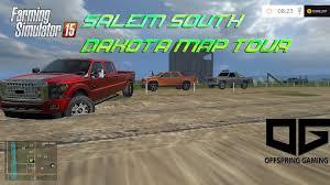South Usa Map by Farming Simulator 2015 Salem South Dakota Usa Map Tour Youtube