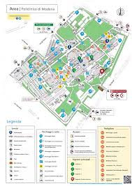 Modena Map by Mappa E Viabilità Policlinico Di Modena Azienda Ospedaliera