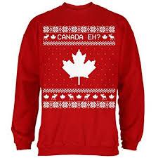 canada sweater amazon com canadian canada eh sweater mens