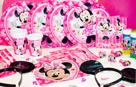 minnie mouse party supplies party minnie mouse tableware decorations accessories dma homes