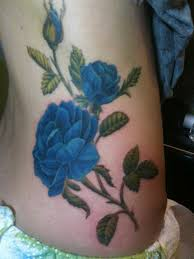 Blue Roses 37 Exclusive Blue Rose Tattoos And Designs
