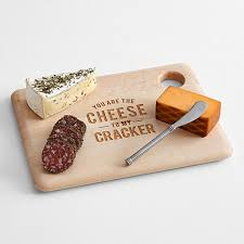 personalized cheese board set envelope personalized cheese board set cheese cracker