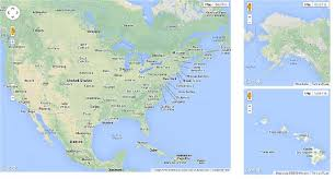 map of the united states showing alaska and hawaii map of usa showing alaska