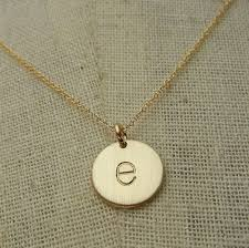 gold necklace with letter images Gold letter necklace gold initial necklace letter charm letter e jpg
