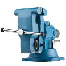 capri tools 5 in rotating base and head bench vise cp10518 the