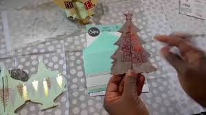 sizzix ornament and tree fold a dies by jen