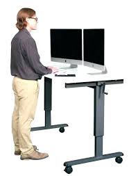 small stand up desk small stand up desk stand up computer desk crank adjustable height