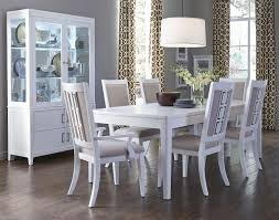 dining room modern white dining room table and chairs orleans ii