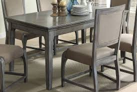 Acme Dining Room Sets by Freira Antique Gray Rubberwood Mdf Dining Table Kitchen Dining