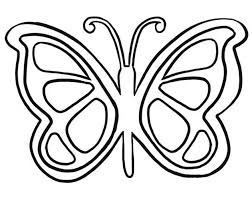 butterfly outline butterfly templates printable crafts u2013 gclipart