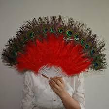 peacock fan online get cheap handmade peacock fan aliexpress alibaba