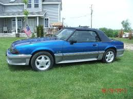 92 ford mustang gt for sale purchase used 1992 ford mustang gt convertible 2 door 5 0l in