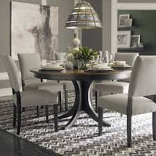 60 dining room table custom dining 60 round pedestal table by bassett furniture living