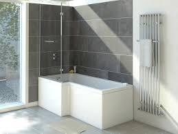Acrylic Shower Doors by Clovelly L Shaped Acrylic Shower Bath No Tap Holes Bretton Park