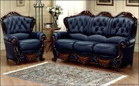 Navy Blue Leather Sofa Furnitures Ideas Marvelous Navy Blue Leather Sofa Sets With